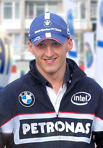 Robert Kubica in Warsaw, September 2006