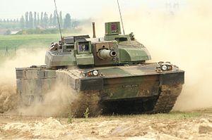 AMX 56 Leclerc Tank of Armée de terre