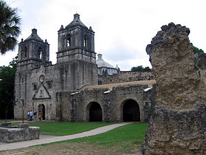 Mission Concepcion is one of the San Antonio m...