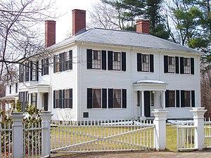 Photograph of Ralph Waldo Emerson House, Conco...