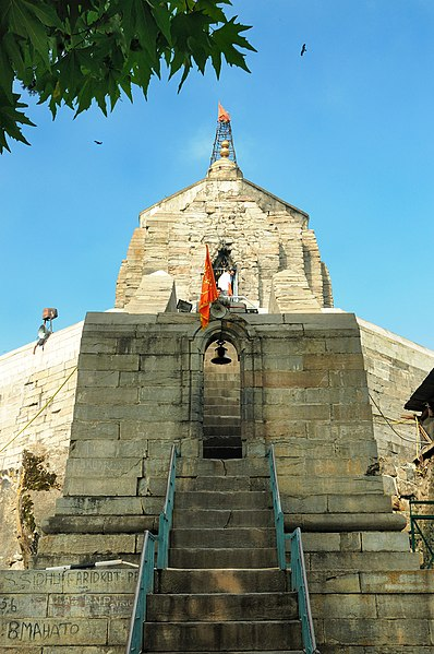 File:The Ancient Shankaracharya Temple (Srinagar, Jammu and Kashmir).jpg