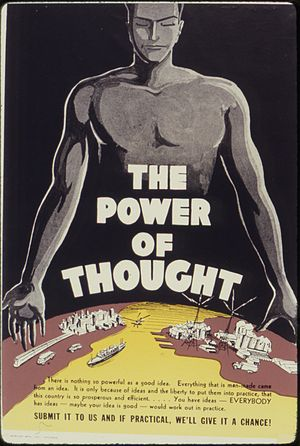 The Power of Thought - NARA - 534178