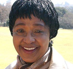 Portrait of Winnie Madikizela-Mandela