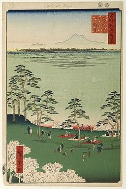 100 views edo 017 by Utagawa Hiroshige