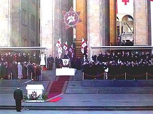Saakashvili's inauguration as President of Georgia