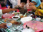 Eid Ul-Fitr meal, Malaysia