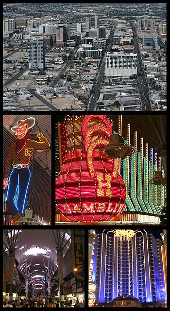 English: An image montage of the City of Las V...