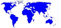 Persebaran Rosaceae di dunia