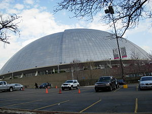Mellon Arena - drive through side 01