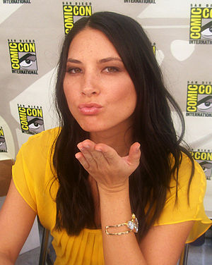 Olivia Munn at the 2007 Comic-Con. Picture tak...