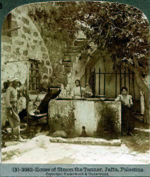 English: Simon Tanner House, Jaffa, Religion i...