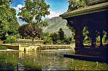 English: Shalimar Gardens (Kashmir, India)