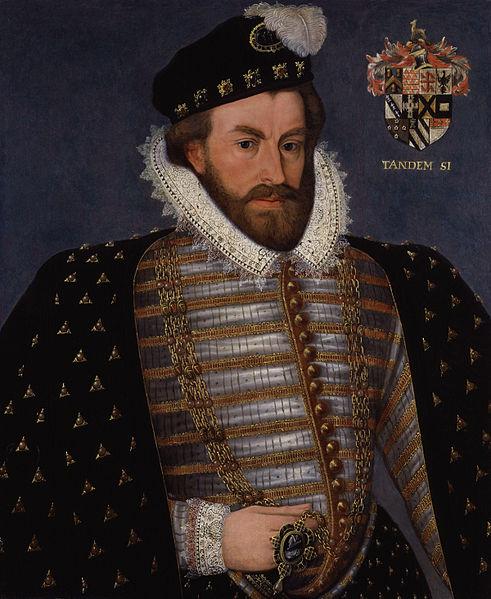 portrait of Sir Christopher Hatton