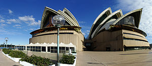 English: Opera House, Sydney, Australia Deutsc...