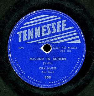 Missing In Action by Kirk McGee, Tennessee 195...