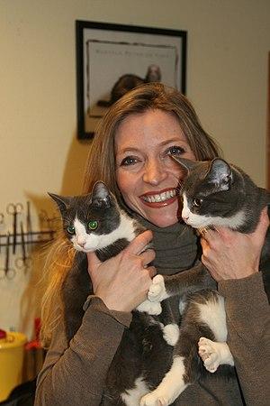 Norwegian veterinarian and TV personality Trud...