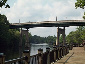 Waccamaw River Memorial Bridge, June 2010