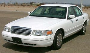 2003 Ford Crown Victoria photographed in USA. ...
