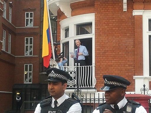 Assange speech at Ecuador embassy