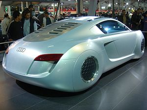 English: Audi RSQ concept car at the 6th Athen...