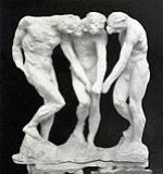 Figurative Sculpture of Rodin