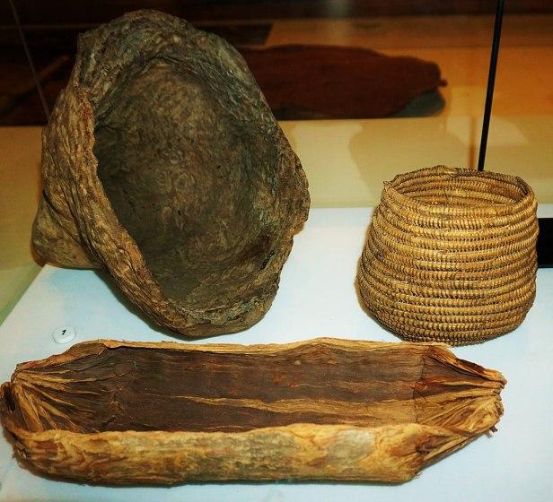 Australian Museum - Joy of Museums - Coolamons - Aboriginal Carrying Vessels