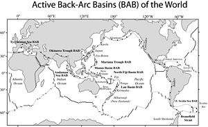 Back-arc basin
