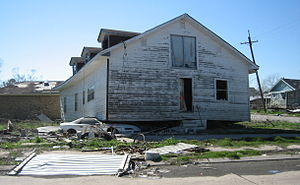 New Orleans after Hurricane Katrina: Flood dev...