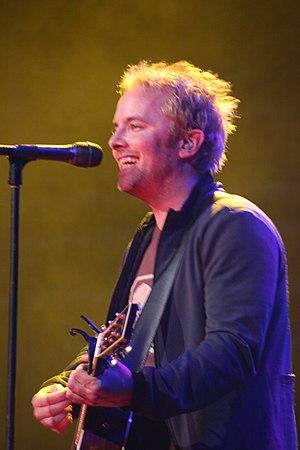 Chris performing live in concert in Nashville,...