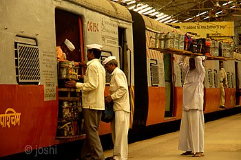 English: Dabbawalas, Mumbai
