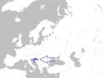 Europe map croatia.png