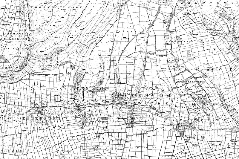 File:Map of Yorkshire Sheet 092, Ordnance Survey, 1848-1857.jpg