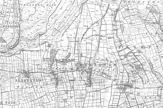 File:Map of Yorkshire Sheet 092, Ordnance Survey, 1848-1857.jpg