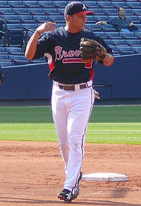Martin Prado takes over at second, for now.