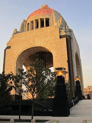 Español: Vista del Monumento a la Revolución M...