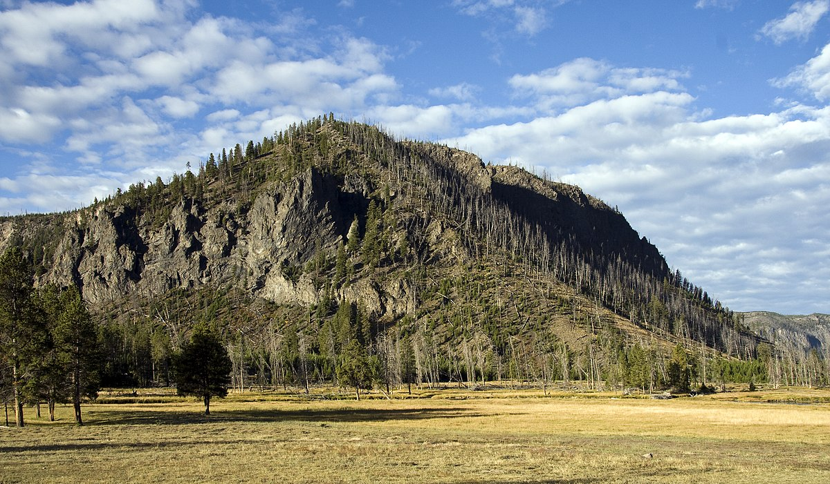 Eagle Peak Yellowstone National Park