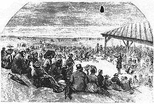 English: Ocean Grove, New Jersey (U.S.) in 187...