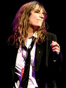 Photo représentant Patti Smith.