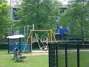 English: a playground in Driebergen