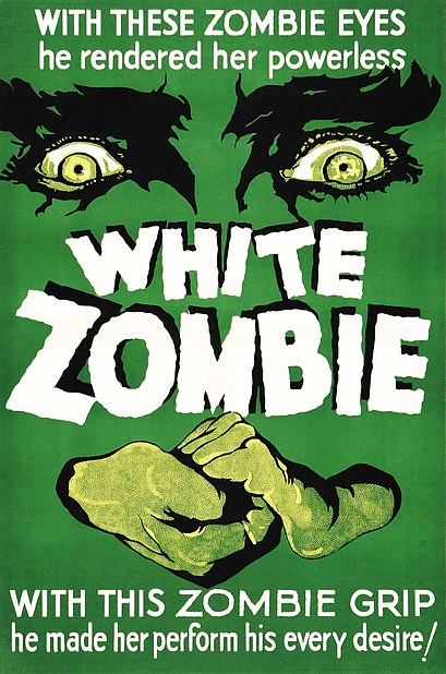 white zombie movie poster photo: White Zombie white-zombie-movie-poster.jpg