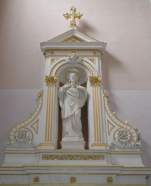 English: Sacred Heart of Jesus Christ, Bjelova...