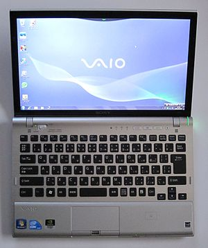 English: SONY VAIO VPCZ119FJ/S