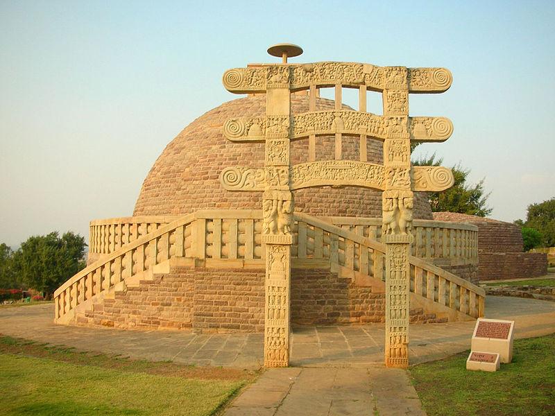 File:Stupa no. 3, Sanchi.jpg