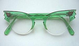 "1950s Women's ""Cats Eye"" Glasses. Ci..."