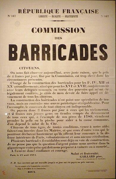 File:Commune de Paris affiche sur le travail aux barricades.jpg