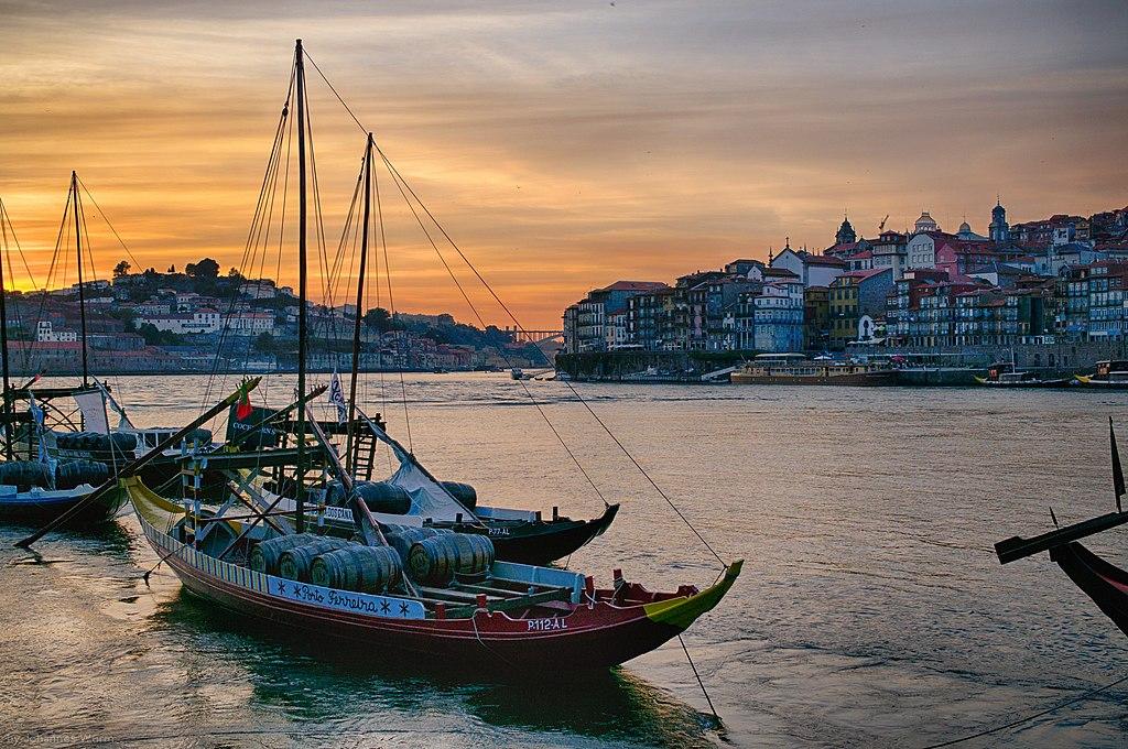 Porto, Portugal. The River Douro. (Photo: Wikimedia Commons, author Wurminister)