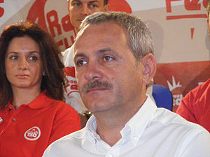 English: Romanian politician Liviu Dragnea at ...