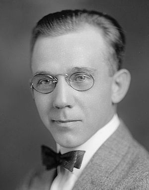 American novelist Ernest Poole (1880-1950), fi...