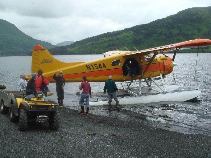 Floatplane Kodiak archipelago