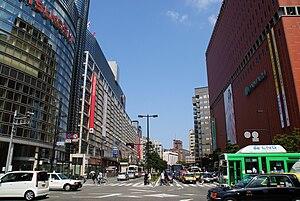 Watanabe-dori Avenue.(Chuo Ward, Fukuoka City,...